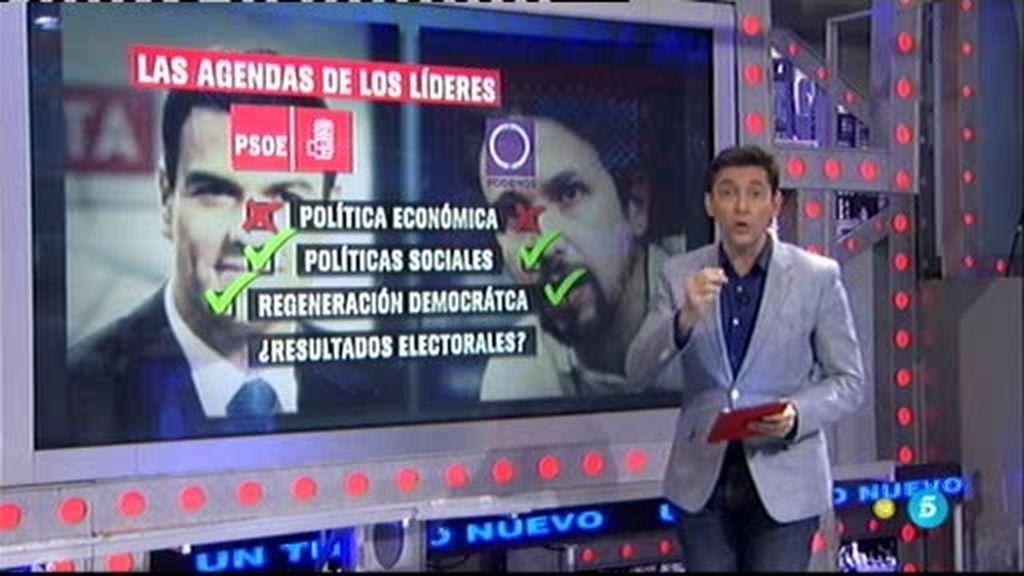 La cena de Pablo Iglesias y Pedro Sánchez, ¿secretismo o discreción?
