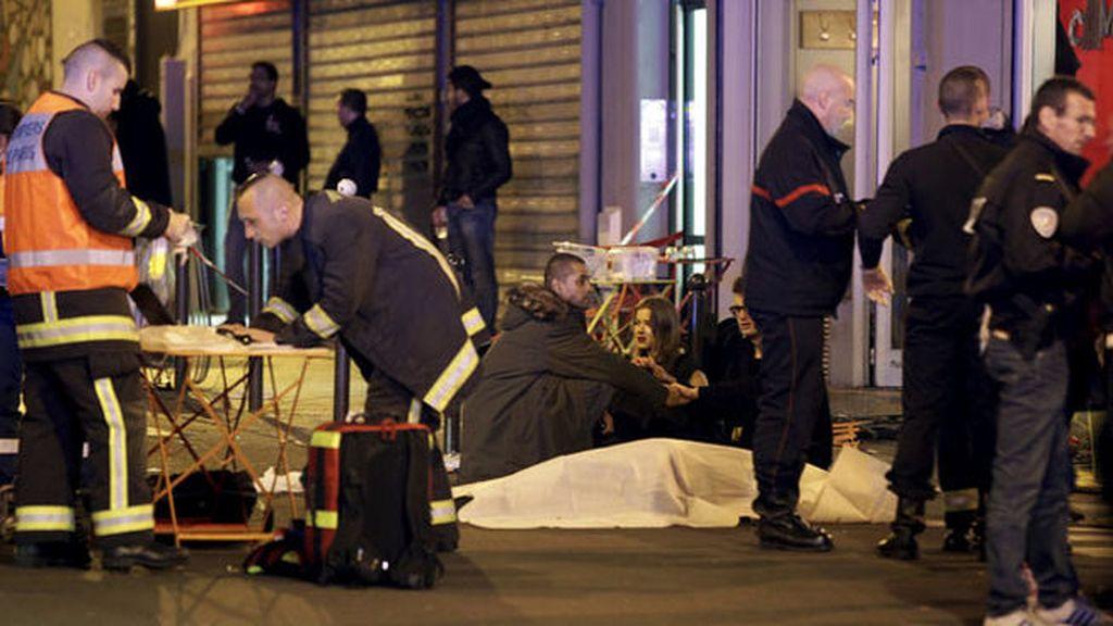 Así se sucedieron los atentados de París