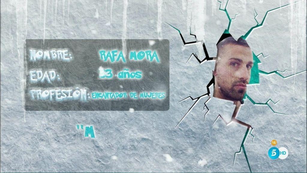 ¿Será Rafa Mora la envidia de sus compañeros en 'Sálvame Snow Week'?