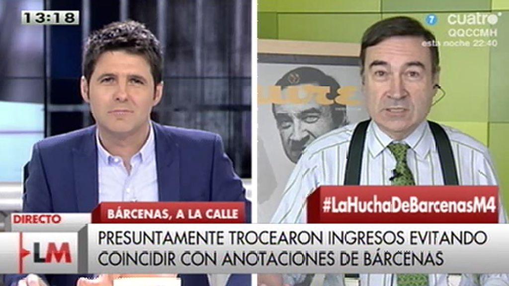 """Pedro J. Ramírez: """"La responsabilidad política del señor Rajoy es ineludible"""""""