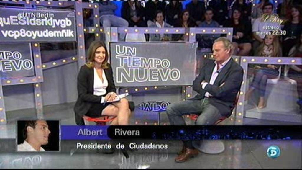 "Albert Rivera sorprende a Bertín Osborne: ""Somos grandes amigos"""