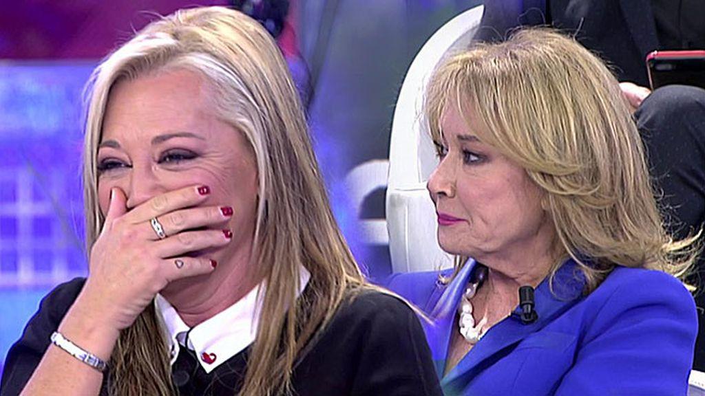 "Belén Esteban no se corta: ""Mila, ¿te has acostado con algún político español?"""