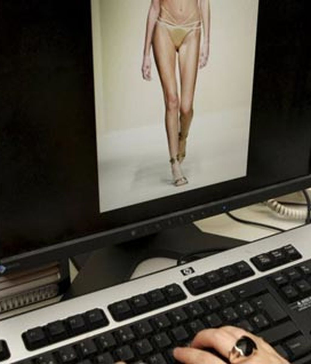 Alertan de un aumento del 470% de páginas en Internet pro anorexia y bulimia. Foto: EFE / Archivo