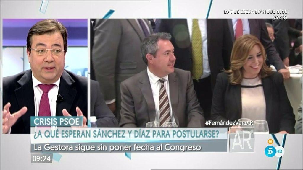 """Fernández Vara: """"Uno de los principales problemas de España es el demográfico"""""""