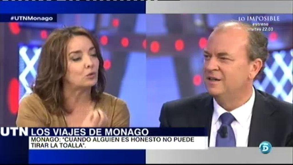 """Monago: """"Puse los papeles a disposición de los periodistas, no fue un suspiro"""""""