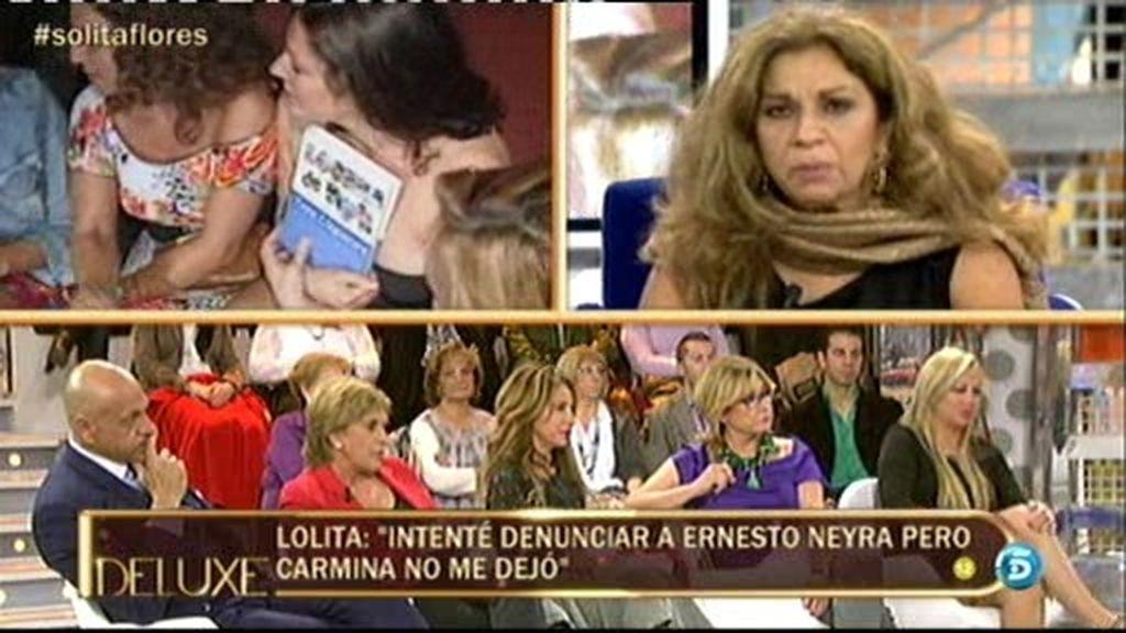 """Lolita: """"Carmina se apartó de mi porque yo dejé de tomar y de salir"""""""