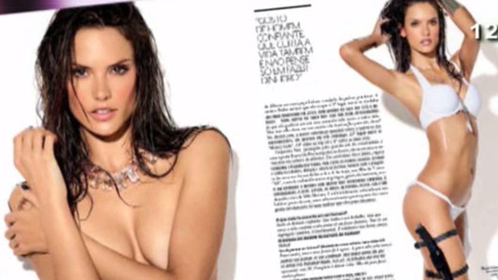 Alessandra Ambrosio, portada de GQ