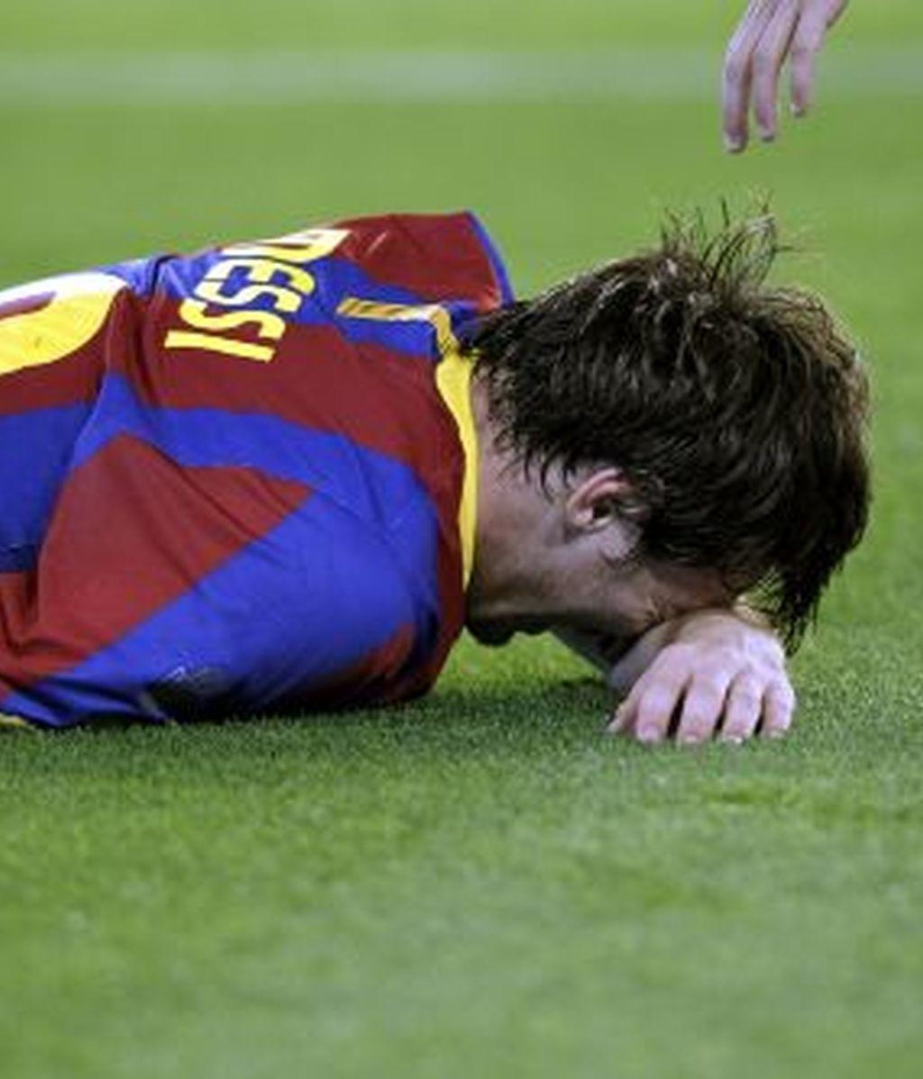 Leo Messi, en el último Clásico. Foto: Gtres