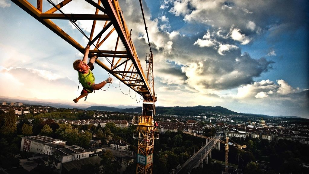Increible escalada libre