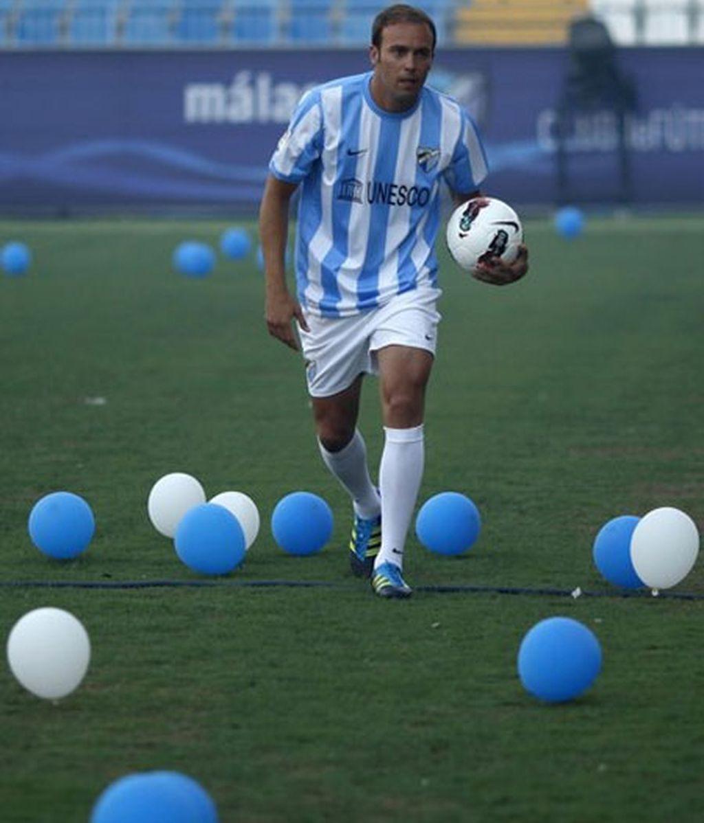 """Mathijsen, """"orgulloso de formar parte de la Liga"""". Foto: Reuters."""