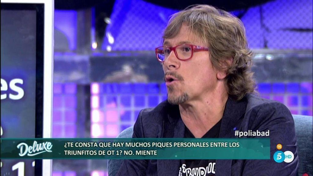 """Alejandro Abdad: """"El que más envidia ha tenido siempre del resto es Manu Tenorio"""""""