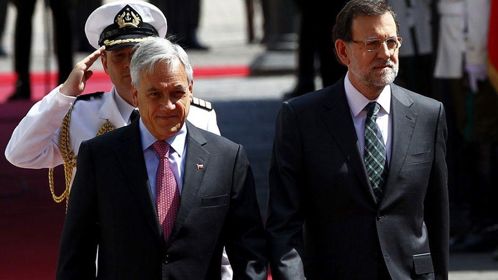 Visita oficial de Rajoy a Chile