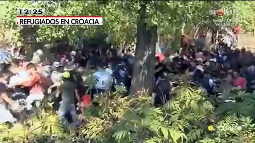 Croacia, desbordada por la avalancha de refugiados tras el bloqueo húngaro