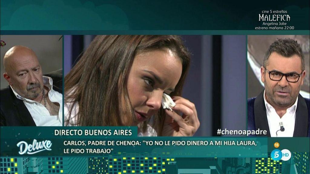 """Carlos: """"Quiero que Chenoa  reconozca que tiene un padre biológico que no soporta"""""""