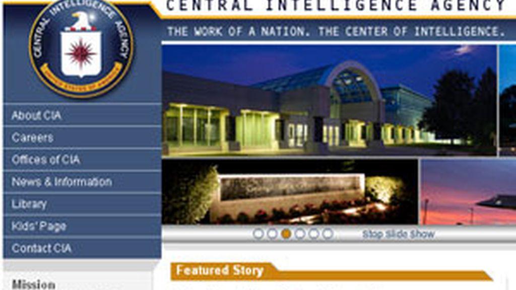 La página web de la CIA estuvo caída durante varios minutos. Foto: cia.gov
