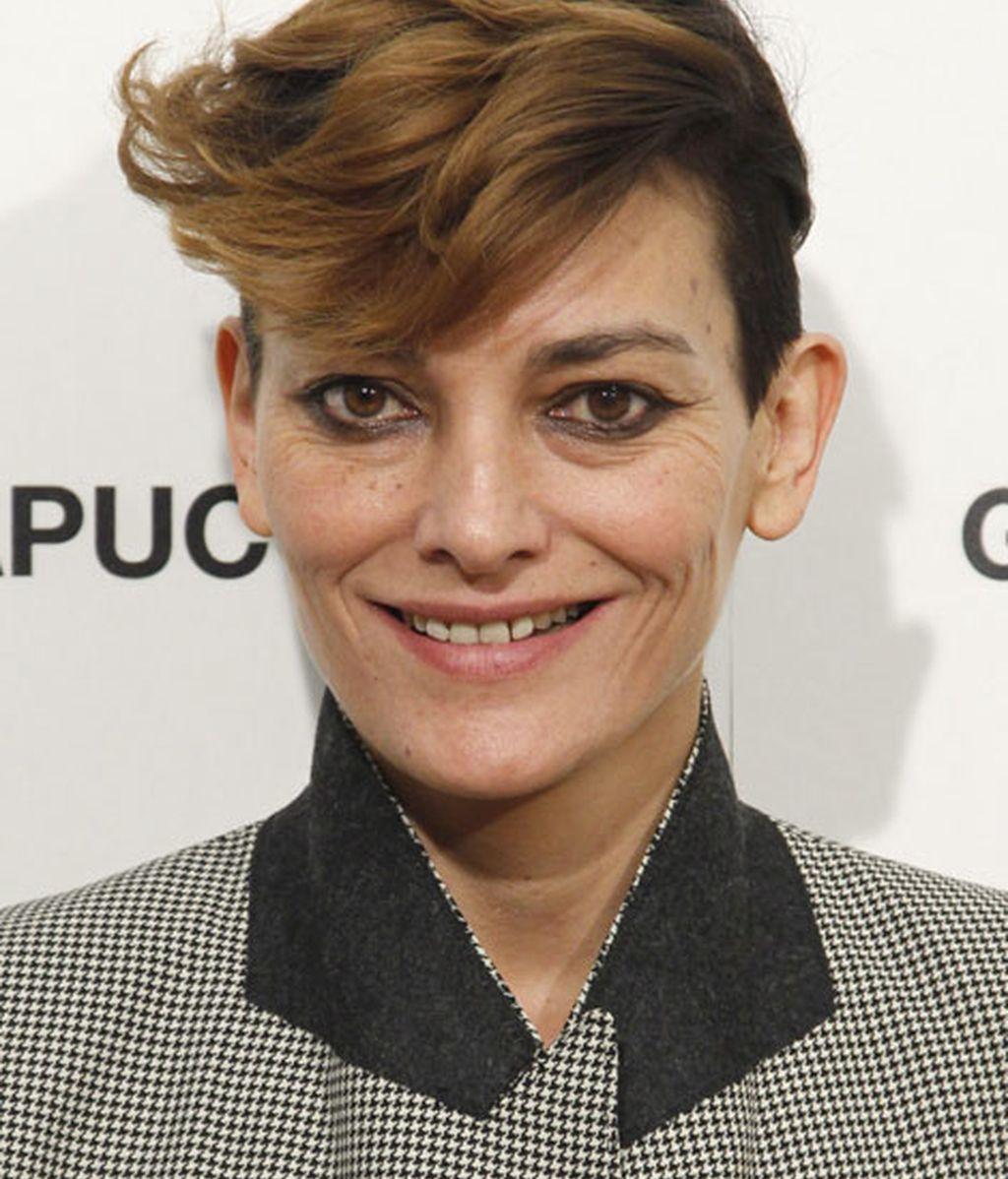 Laura Ponte se corta el pelo radical