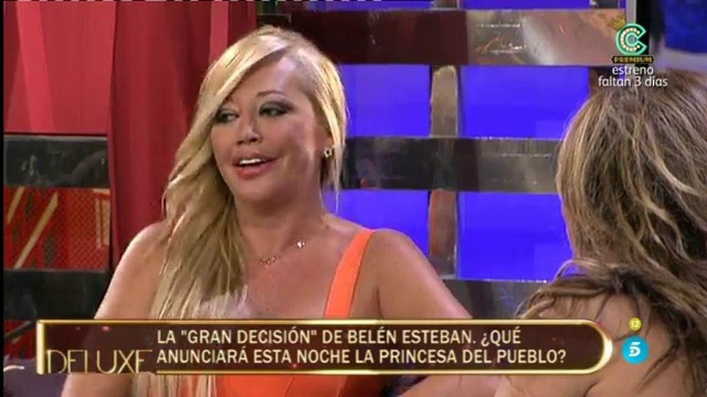 """Belén Esteban: """"Es evidente que estoy con Miguel, es el hombre de mi vida"""""""
