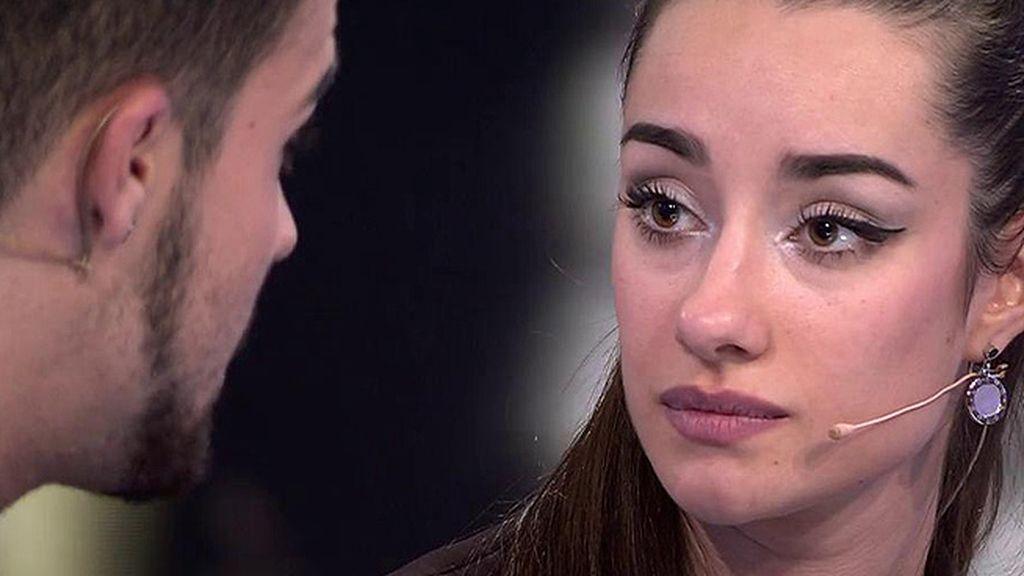 """Adara, a Pol: """"A mí me alegraste el concurso"""""""