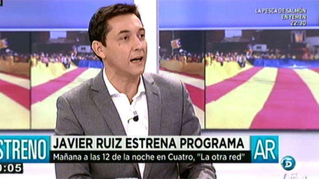 """Javier Ruiz estrena 'La otra red': """"Pretendemos aportar más información"""""""