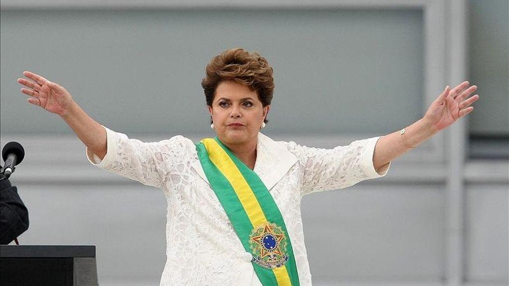 Rousseff ha comenzado a retomar las relaciones con EE.UU., que habían pasado por algunas polémicas ideológicas con Lula y que ahora, tras la reciente visita del presidente Obama a Brasil, donde estuvo dos días, parecen encarriladas. EFE/Archivo