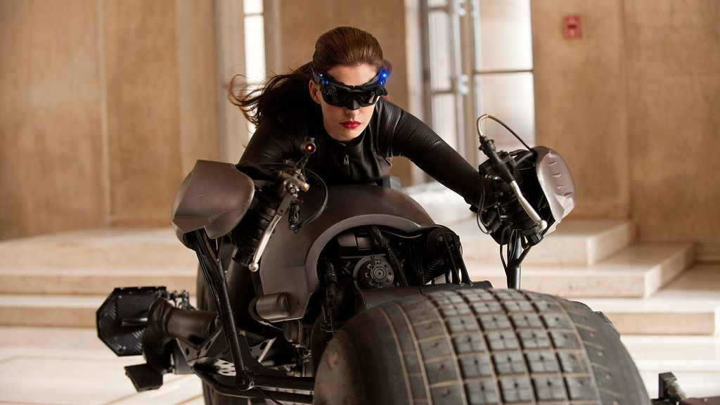 Anne Hathaway como 'Catwoman'