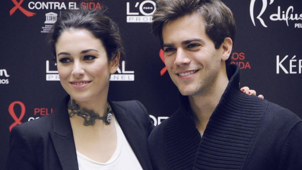 Blanca Suárez y Marc Clotet apadrinan el proyecto 'Peluqueros contra el sida'