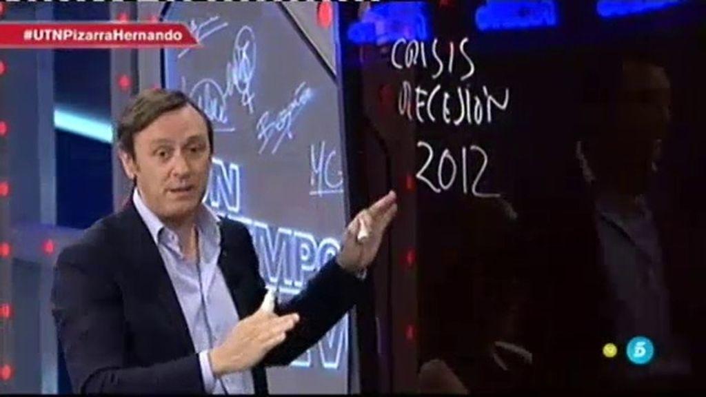 """R. Hernando: """"Hemos hecho reformas esenciales, la primera: la reforma laboral"""""""