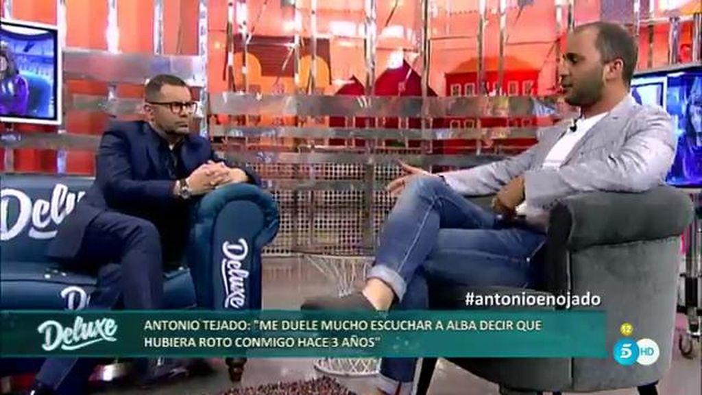 """Antonio: """"Yo no hubiese roto con mi mujer nunca, te lo juro por mis dos hijos"""""""