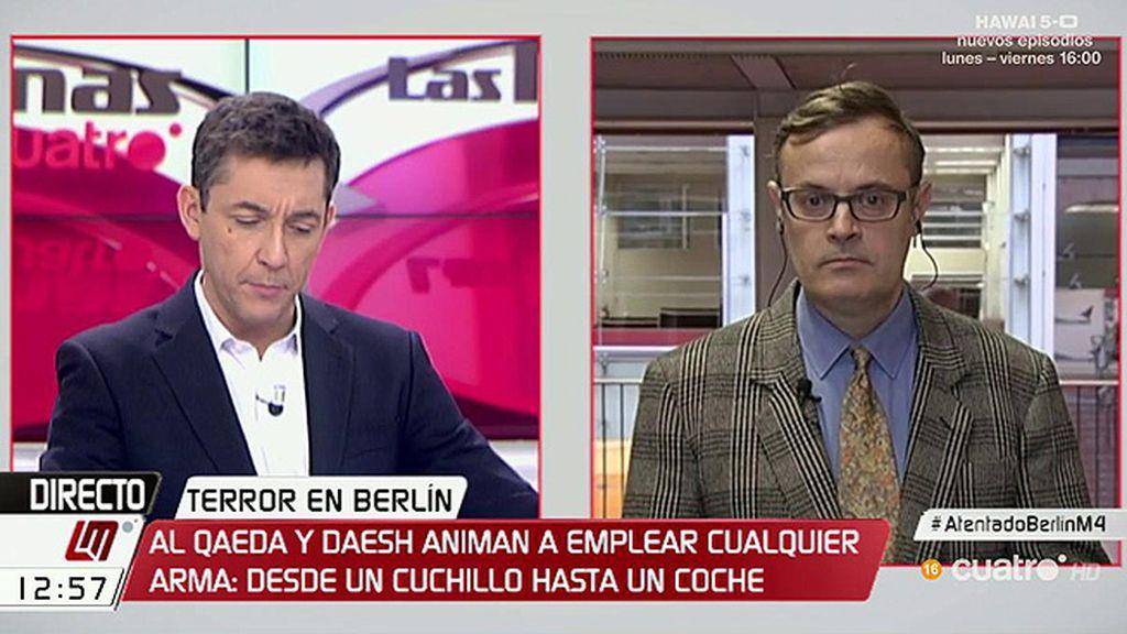 """V. Pallejà: """"El énfasis puesto en las situaciones de terror pueden determinar la orientación política"""""""