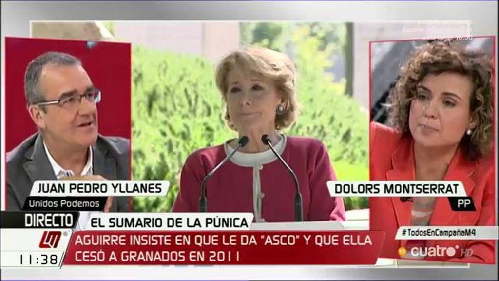 """Dolors Montserrat, sobre la corrupción: """"Están fuera de nuestro partido, ya no pueden hacernos más daño"""""""