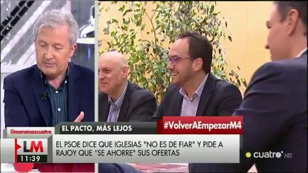 """Emilio del Río (PP): """"El 'no' de Sánchez es el que nos va a llevar a las elecciones"""""""