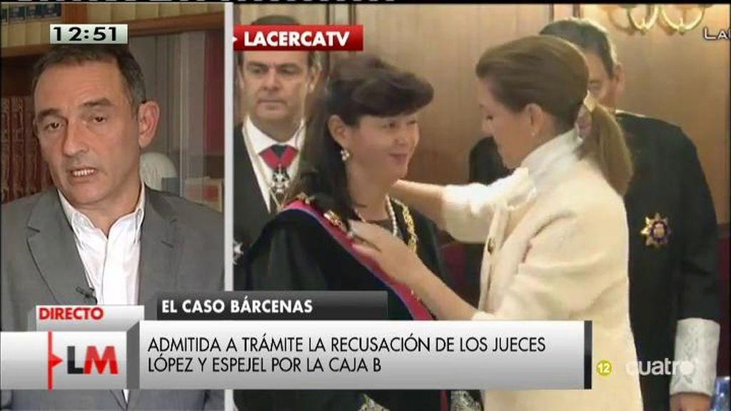 """Enrique Santiago: """"López y Espejel deberían haberse abstenido por una cuestión ética"""""""