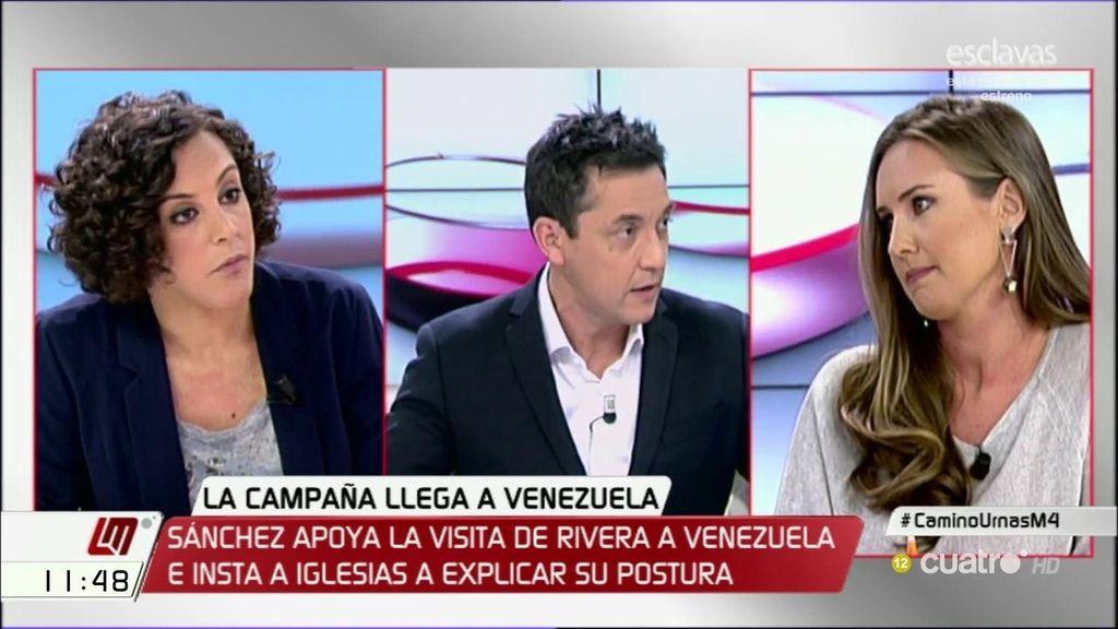 """Nagua Alba, de la visita de Albert Rivera a Venezuela: """"Evidencia la falta de ideas y de proyecto de futuro para España"""""""