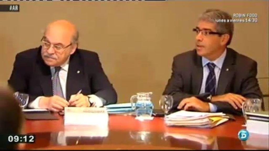 """Homs, portavoz de la Generalitat: """"La partida no se ha acabado"""""""