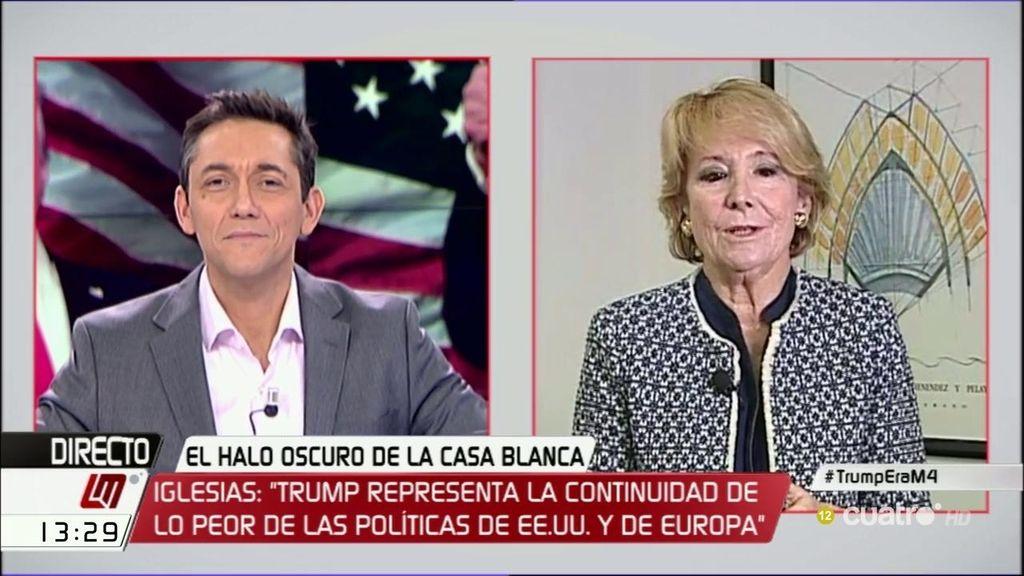 La entrevista a Esperanza Aguirre, completa