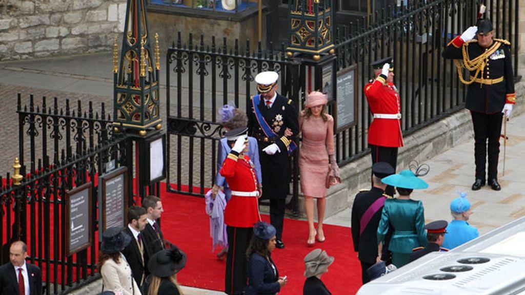 La reina y los príncipes de Asturias