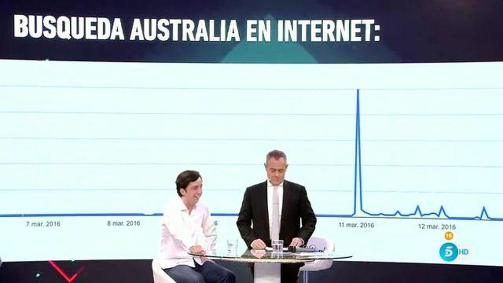 """Fran Nicolás bromea sobre Australia: """"Sabía que iban a escribir millones de artículos"""""""