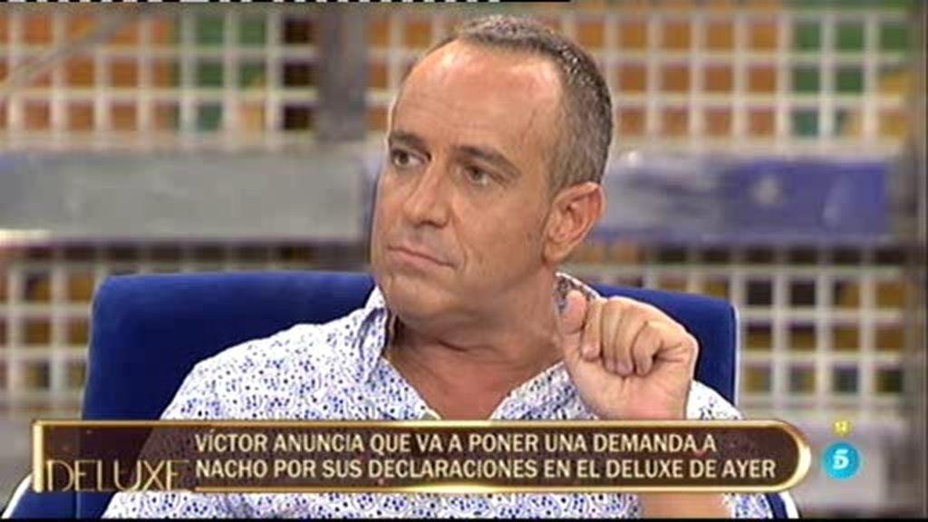 """Víctor: """"Tengo un trastorno psiquiátrico por Nacho, le voy a denunciar por dos delitos"""""""