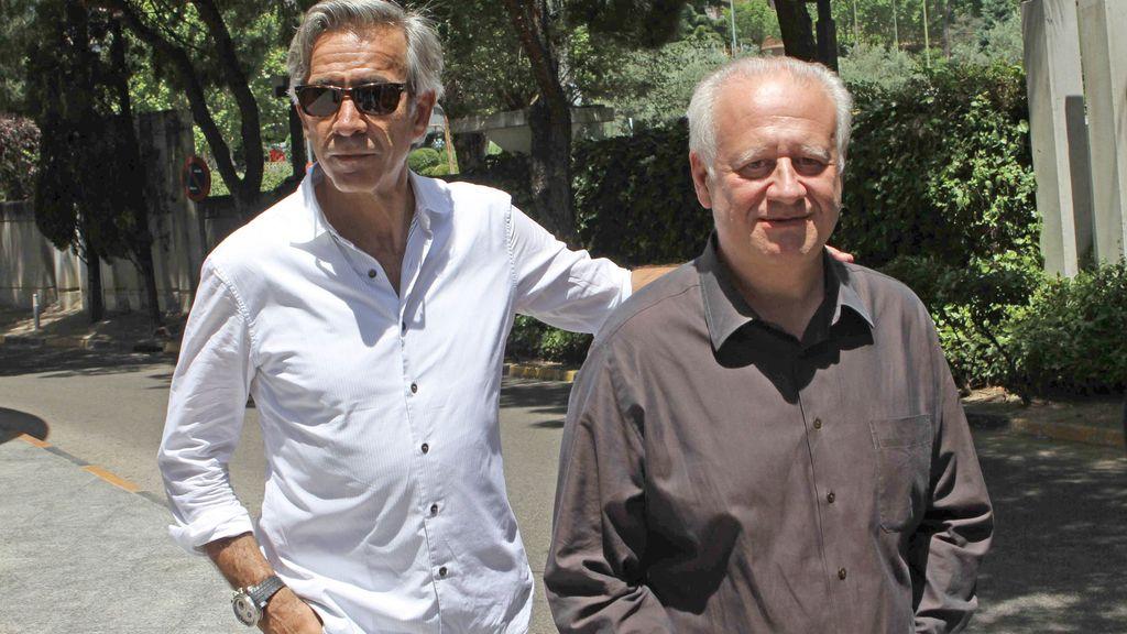 Imanol Arias y Juan Echanove
