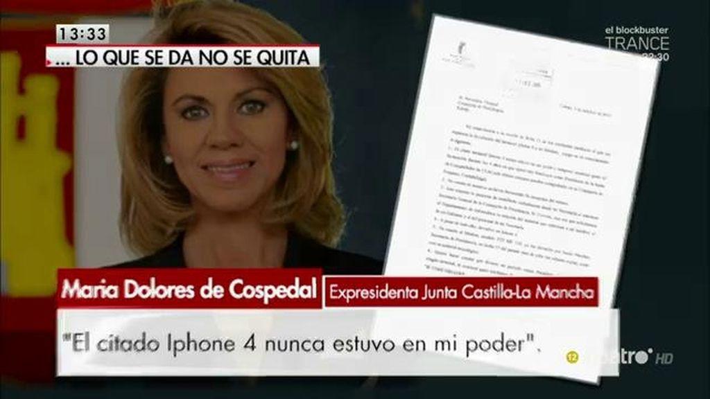 La Junta pide al gobierno de Cospedal que devuelvan sus iPhones y iPads