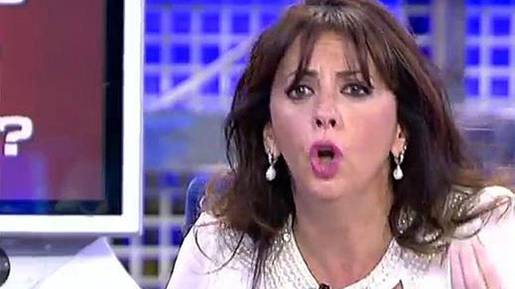 María Luisa justifica el conflictivo comportamiento de su hijo Rafa