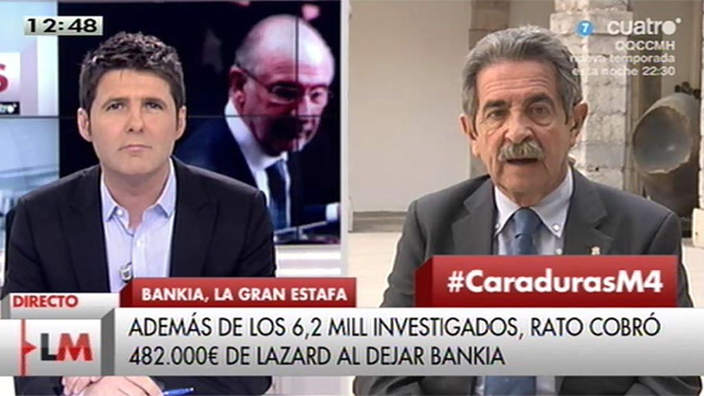 """Revilla: """"En Bankia está la caja negra de todo lo que ha ocurrido después"""""""
