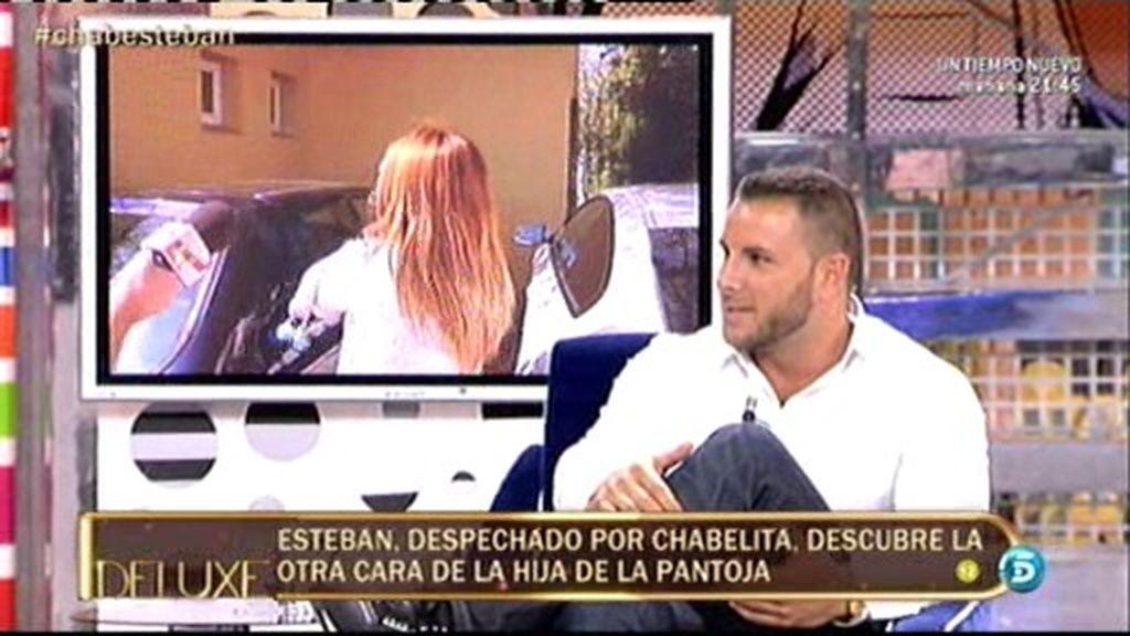 """Esteban: """"Chabelita se acercó a mí y se restregó mientras bailaba"""""""