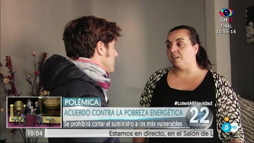 Joana vivió un año sin luz, con cuatro niños y un sueldo de 440€