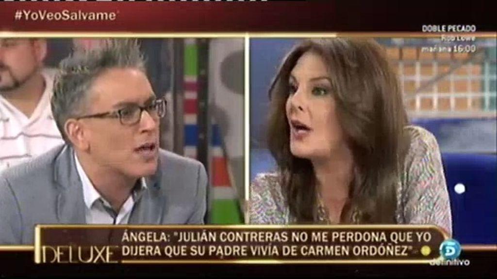 """Kiko Hernández 'enciende' a Ángela Portero: """"Sé por qué Julián Contreras no te quiere ver"""""""