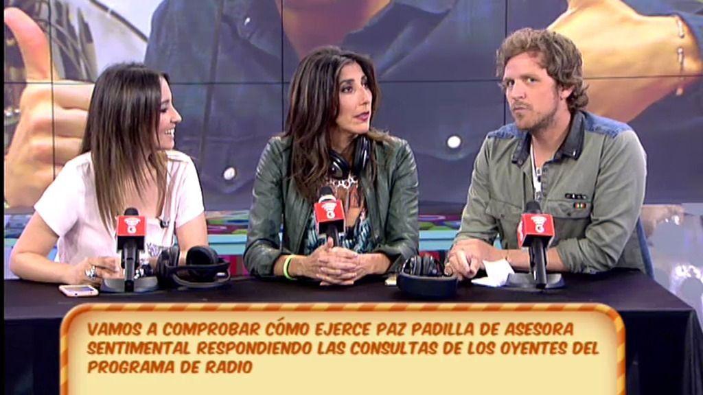 Paz Padilla ejerce de asesora sentimental con los oyentes de 'MorninGlory'