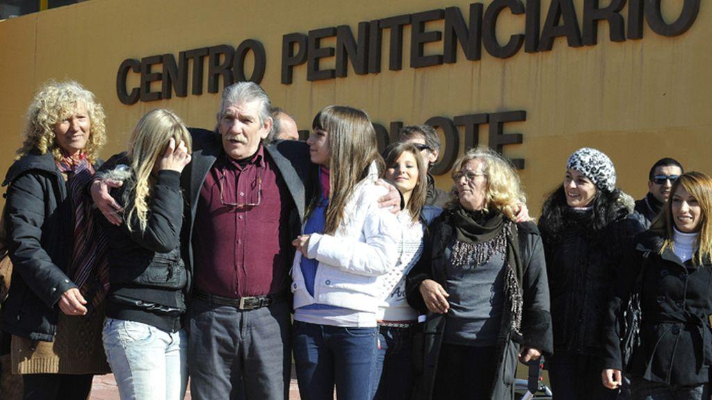 Montes Neiro, el preso común más antiguo de España sale indultado de la cárcel