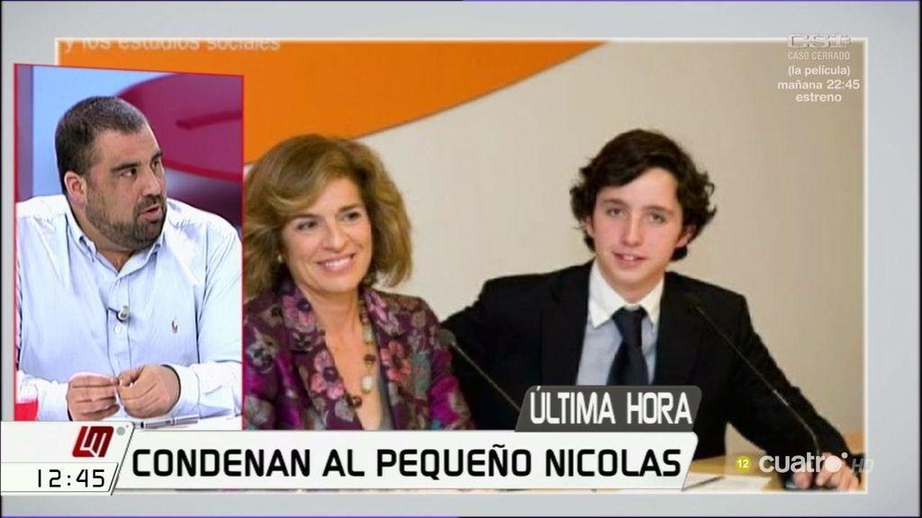 Condenan al 'Pequeño Nicolás' a pagar 4.320 euros por el delito de calumnias al CNI
