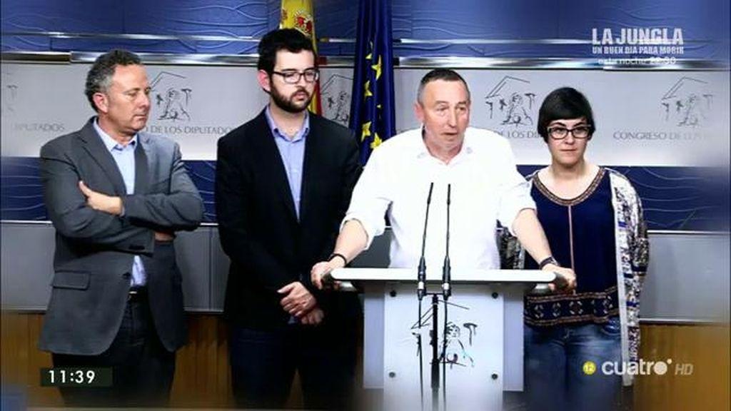 La izquierda trató de evitar las elecciones con el 'Acuerdo del Prado' pero el PSOE  se negó