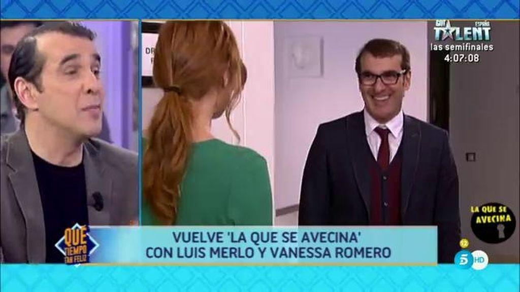 """Luis Merlo: """"No me veo en la TV. Soy un señor asomado a una ventana y no a un espejo"""""""